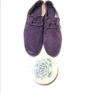 Frye purple Jillian oxfords